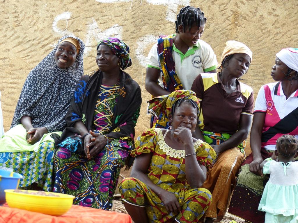 Femmes productices au Burkina Faso
