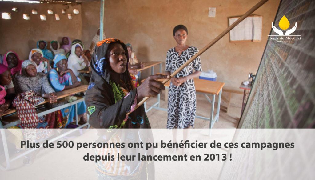 Campagne d'alphabétisation au Burkina Faso - Février 2019